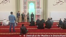 Deutschland Hamburg   Freitagsgebet in der Al-Nour Moschee