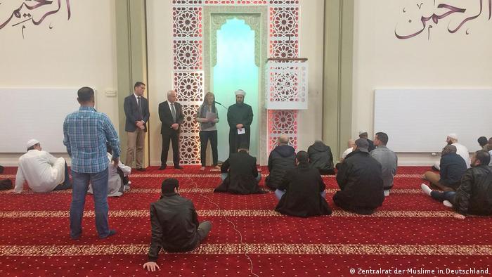 Deutschland Hamburg | Freitagsgebet in der Al-Nour Moschee (Zentralrat der Muslime in Deutschland )