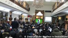 Deutschland Berlin | Freitagsgebet in der Dar-Al Salam Moschee