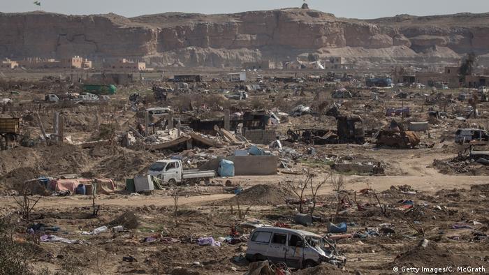 Syrien Zerstörung in Baghus