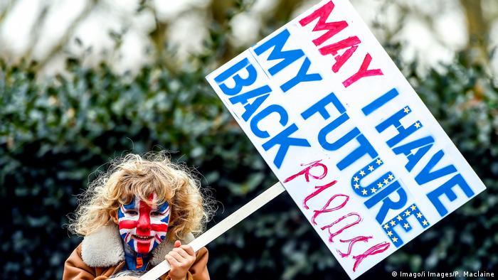 Großbritannien London People's Vote Demonstration
