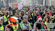 Frankreich Paris Gelbwesten-Proteste