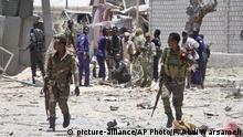 Somalia Anschlag in Mogadischu