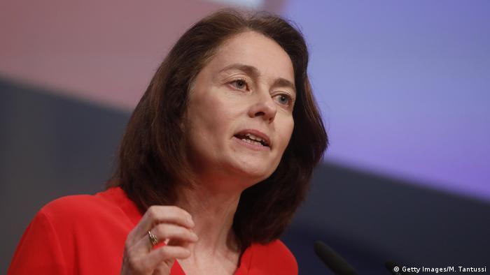 Berlin SPD-Konvent Rede Katarina Barley