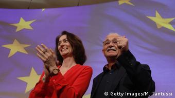 Berlin SPD-Konvent Katarina Barley und Bullmann (Getty Images/M. Tantussi)