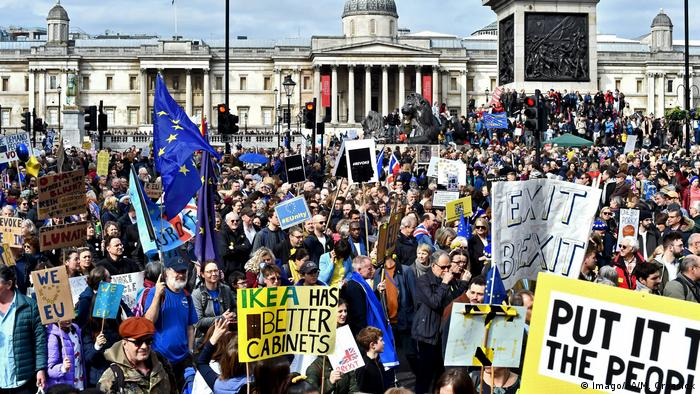 Over a million people took part in the People's Vote March in London