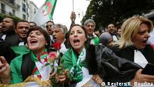 Algerien Algier Proteste gegen Präsident Bouteflika