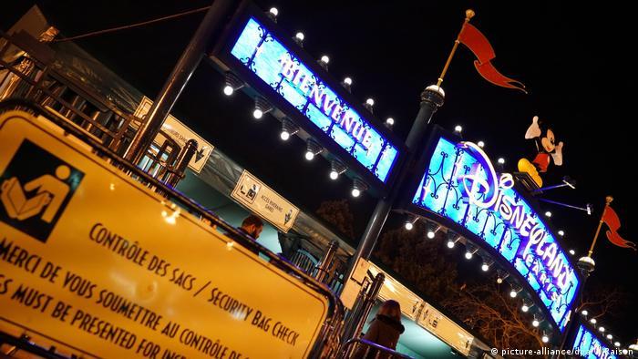 """""""Disneyland""""-Besucher geraten in Panik"""
