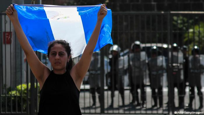 Nicaragua Opposition Protest (AFP/Getty Images)