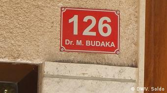 Bosnien-Herzegowina Mostar Straße