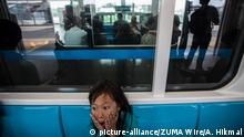 Indonesien Jakarte Neue U-Bahn (MRT) (picture-alliance/ZUMA Wire/A. Hikmal)