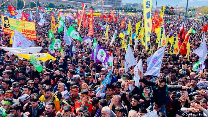 Türkei Istanbul kurdisches Newroz-Fest