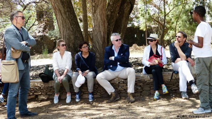 Äthiopien Gonder Besuch DW-Delegation (DW/Y. Gebregziabher)