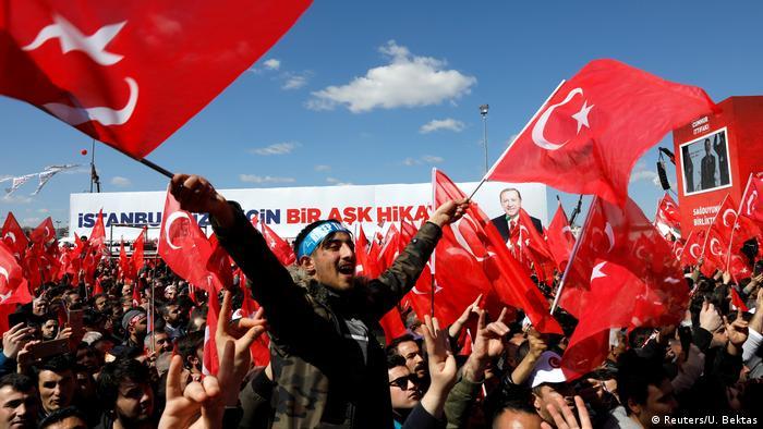 Передвиборний мітинг у Стамбулі
