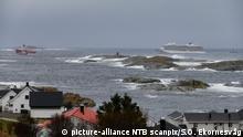 Norwegen Kreuzfahrtschiff Viking Sky wird abgeschleppt