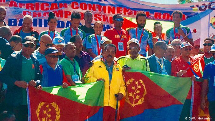 Der erste äthiopische Radfahrer bei Olympia, Geremew Denboba