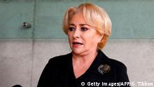 Romanian Prime Minister Viorica Dancila (Getty Images/AFP/G. Tibbon)