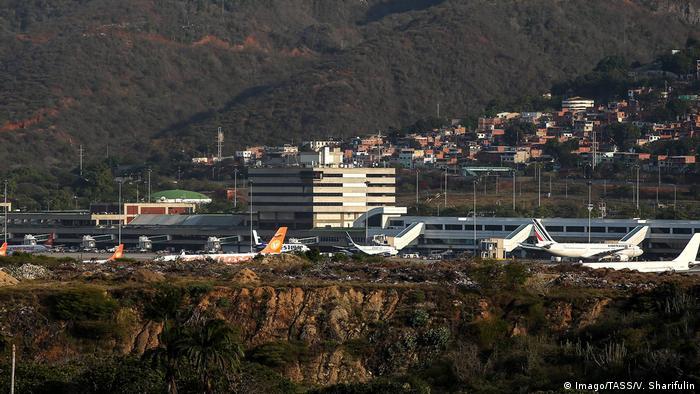 Самолеты в аэропорту имени Симона Боливара