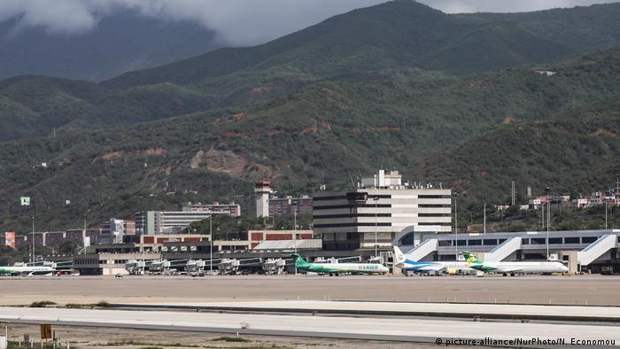 Aeropuerto Internacional de Maiquetía, el principal de Venezuela