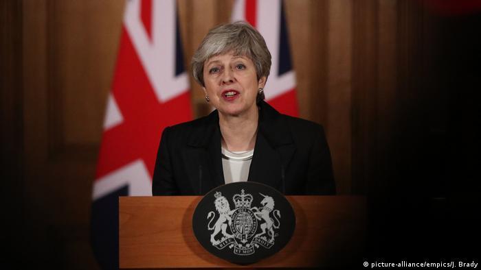 London Theresa May Premierministerin Großbritannien