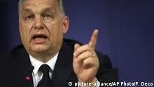 Ungarn Viktor Orban Premierminister