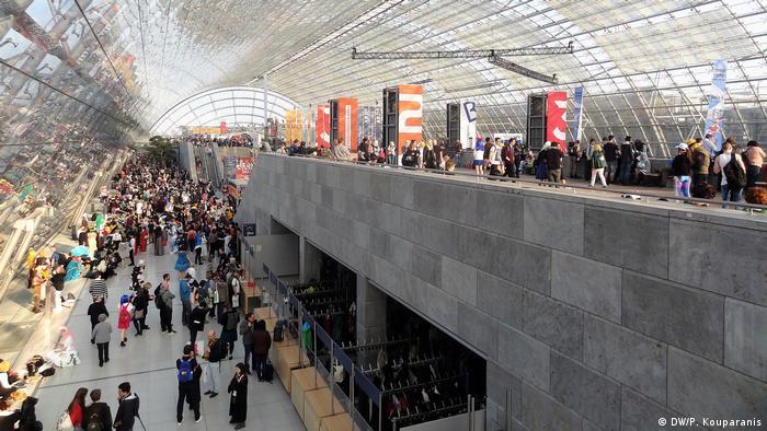 A la última edición de la Feria de Leipzig, realizada en marzo de 2019, asistieron 286.000 visitantes