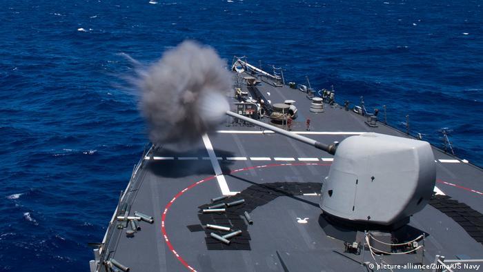 Philippinensee USS Curtis Wilbur Übung