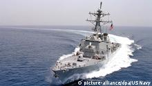Persischer Golf USS Curtis Wilbur Patrouille
