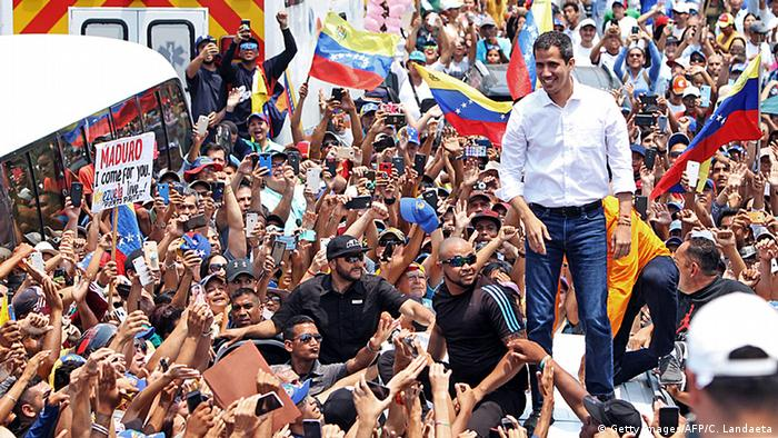Venezuela Opposition Juan Guaido & Anhänger