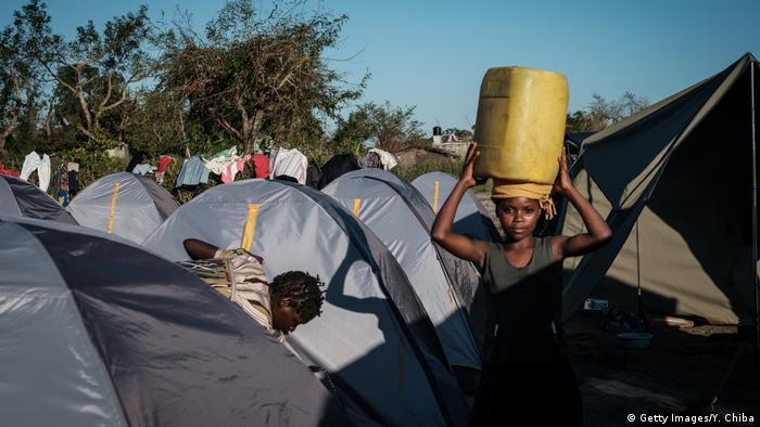 Mosambik Cholera Idai Zyklon (Getty Images/Y. Chiba)