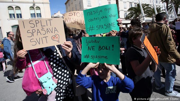 Prosvjed #spasime u Splitu, 16.3.2019.