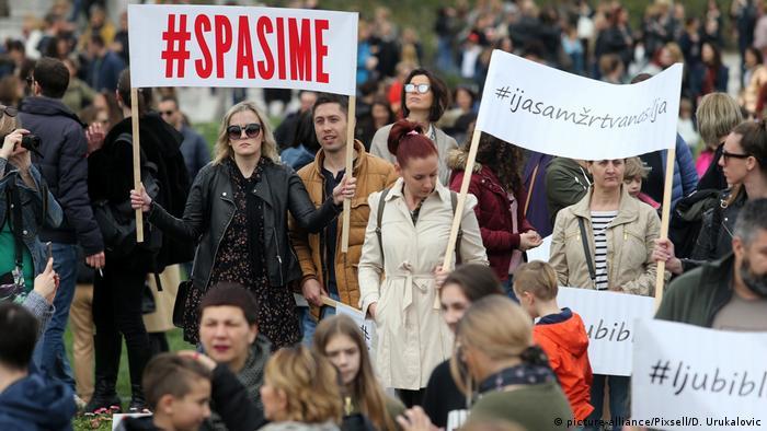 Prosvjed #spasime u Zagrebu, 16.3.2019.