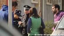 China Belästigung von Auslandskorrespondenten