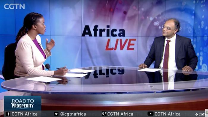 Screenshot von CGTN Africa (CGTN)