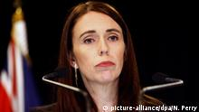 Neuseeland Premierministerin Jacinda Ardern (picture-alliance/dpa/N. Perry)