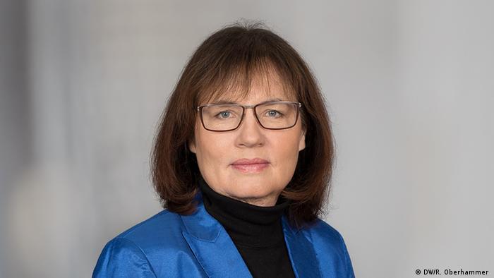 Deutsche Welle Manuela Kasper-Claridge, Chefredakteurin, Kommentarbild