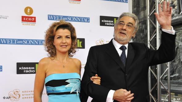 Anne-Sophie Mutter und Placido Domingo