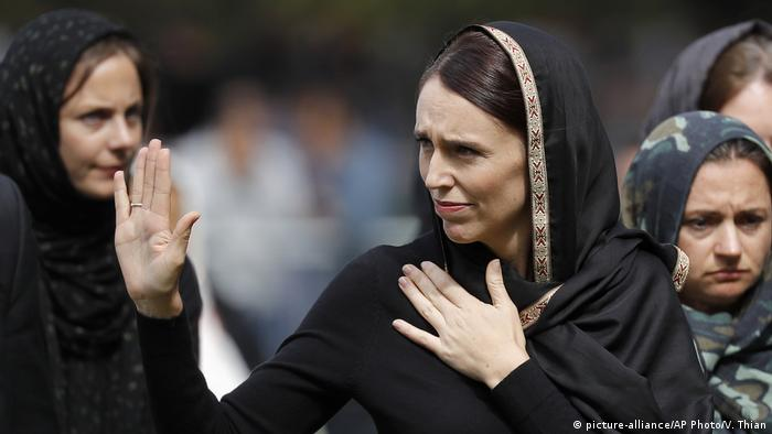 Neuseeland Premierministerin Jacinda Ardern