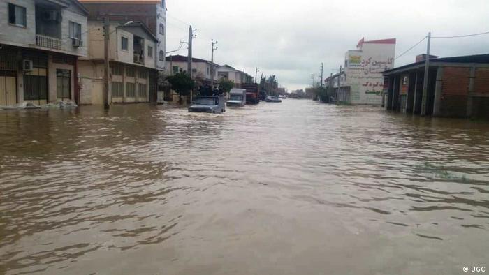 Flut im Zentrum von Iran