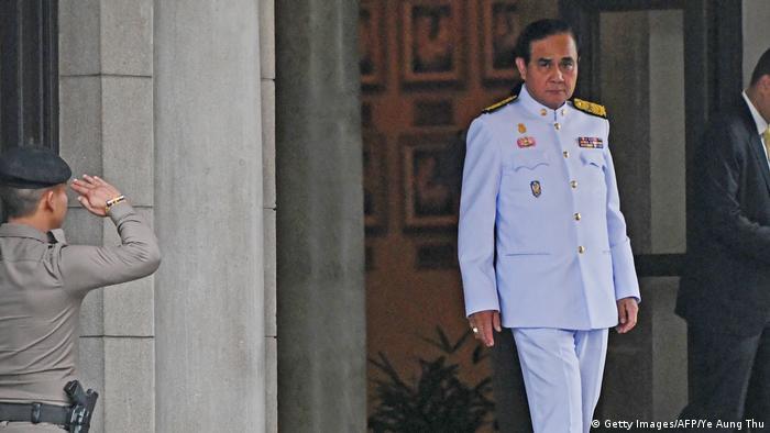 Thailand Wahlen Premier Prayut (Getty Images/AFP/Ye Aung Thu)