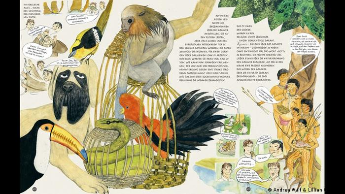 A collage of animals and people (Deutsch) (Andrea Wulf & Lillian Melcher)