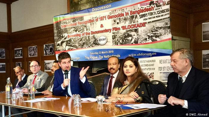 Niederlande, Seminar zur internationalen Anerkennung des Völkermords während des Bangladesch-Krieges von 1971