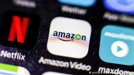 Amazon Video-Icon auf einem iPhone (picture-alliance/dpa/7xim.gs)