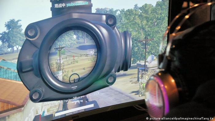 Videospiel PlayerUnknown's Battlegrounds (PUGB) (picture-alliance/dpa/Imaginechina/Tang Ke)