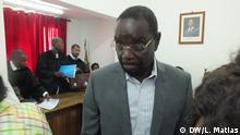 25. März 2019 Ehemaliger mosambikanischer Verkehrsminister Paulo Zucula. Er wurde in einem Korruptionsfall verurteilt. (Leider etwa unscharf - aber als Artikelbild dringend nötig).