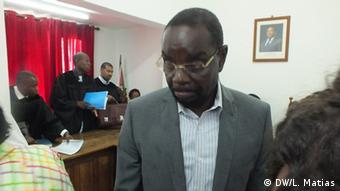 Ehemaliger mosambikanischer Verkehrsminister Paulo Zucula in Maputo
