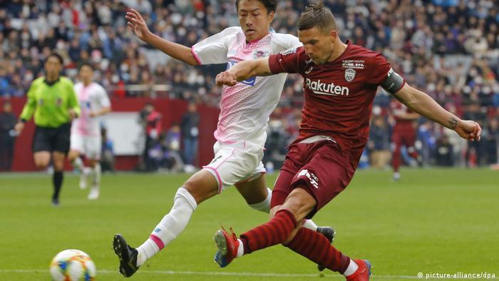 Lukas Podolski deja el Vissel Kobe nipón | Deportes | DW | 19.01.2020