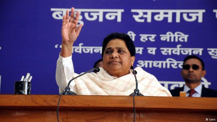 Indien BSP Politikerin Mayawati (Ians)