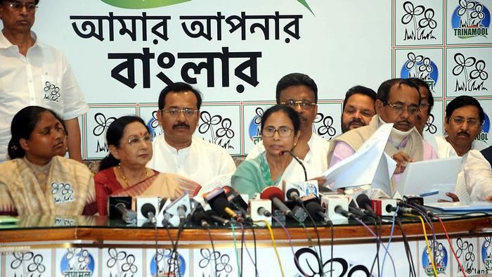 Indien westbengalische Politikerin Mamata Banerjee