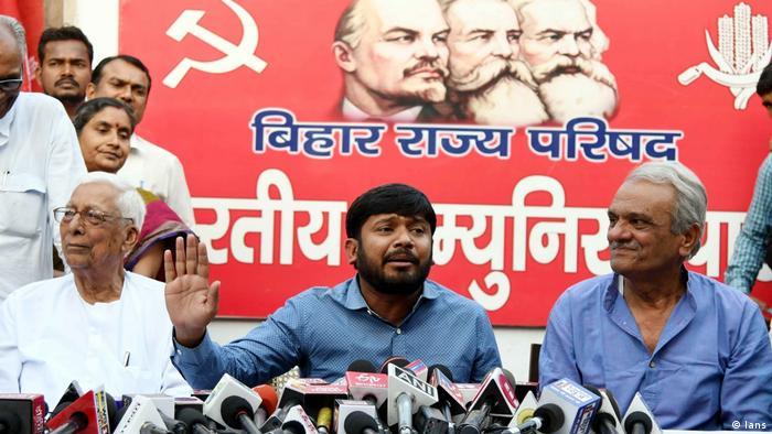Indien CPI Politiker Kanhaiya Kumar